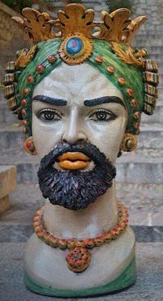 Sicilian Ceramic Moorish Heads History Of The Iconic