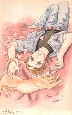 alphonse elric:  obsessed with cats    ~Aru!!!  By ~Aileine