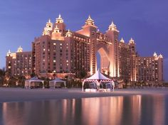 Atlantis The Palm is one of the more spectacular hotels in Dubai.
