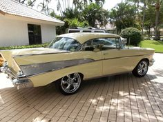 57 Chevy...Re-pin Brought to you by agents at #HouseofInsurance in #EugeneOregon for #CarInsurance