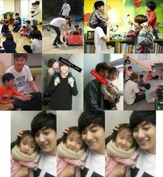 Oh, you're wondering what that sound was. It was just my OVARIES EXPLODING!!! ASDFGHJKL GOOD LOOKING MEN WITH KIDS.!!!!