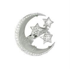 Midnight over the Caspian Sea detachable ring