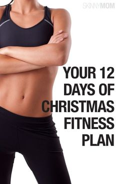 Get your body in shape with this holiday fitness plan!