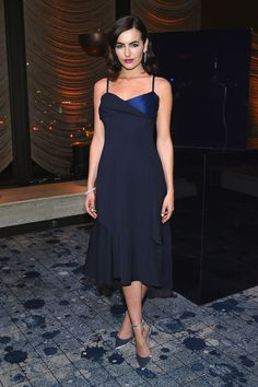Camilla Belle Photos - Camilla Belle attends the Stuart Weitzman Presentation and Cocktail Party at The Pool on February 2018 in New York City. - Stuart Weitzman Presentation And Cocktail Party Camilla Belle, Ripped Girls, Fashion Idol, Belle Dress, Marmaris, Stuart Weitzman, Beautiful People, Celebrity Style, Glamour