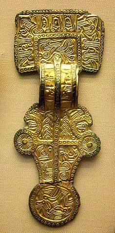 Anglo-Saxon square headed brooch 6c | Flickr - Photo Sharing!