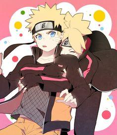 Naruto and Boruto Uzumaki || Naruto Shippuden/Boruto: Naruto Next Generations