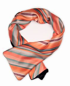 Willancha II Silk Crepe Satin Scarf by ViviAndeanDesigns on Etsy, £50.00