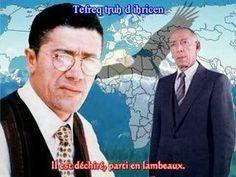 Matoub Lounès Hymne à Boudiaf sous-titré - YouTube