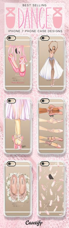 Dance like there is no tomorrow - shop these ballet iPhone 7 case designs here >>> https://www.casetify.com/artworks/oqe0TKQDzJ
