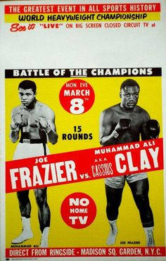 Joe Frazier vs. Ali