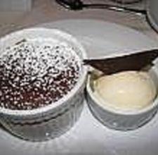 carnival cruise warm chocolate melting cake...mmmmm!