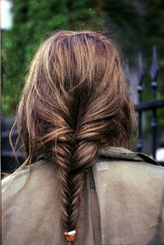 Fishtail from the back.