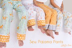 Sew Pajama Pants - Melly Sews
