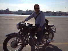 @Piraeus port με τη μηχανή του Ξανθάκη