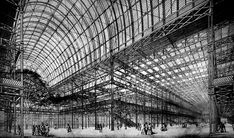 Inside Paxton's Crystal Palace in 1851, London    wouldn't this be cool if it still existed…