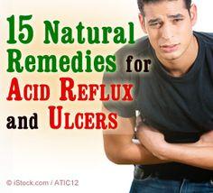 acid reflux ulcer treatment