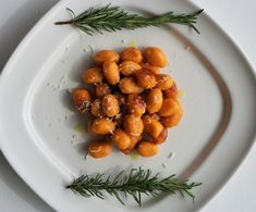 Sweet Potato Gnocchi with Rosemary | Flash Fiction Kitchen