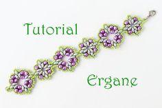 SuperDuo Bracelet Tutorial Beading tutorial by ErganeBeading