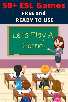 ESL Games For Kids And Beginner English Language Students