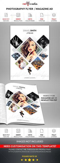 Ideas Fashion Magazine Layout Frames For 2019 Photography Flyer, Photography Marketing, Photography Business, Fashion Photography, Web Design, Flyer Design, Magazine Ads, Magazine Design, Ad Layout
