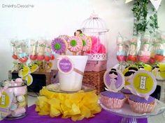 Idea para una mesa dulce de comunión
