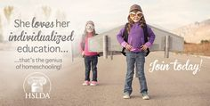 She loves her individualized education | JOIN @HSLDA today!