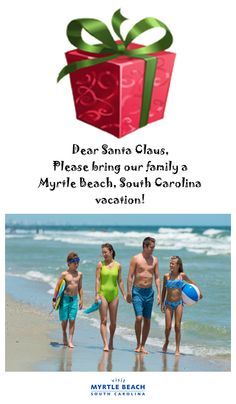 Santa is checking his list and checking it twice and knows a Myrtle Beach, South Carolina vacation sure would be nice!  Check out all the great places to stay at http://www.visitmyrtlebeach.com/hotels/