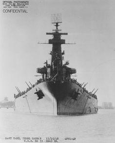 World War II • dieselfutures: USS North Carolina (BB-55)