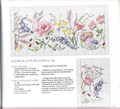 This would be a really pretty cross stitch-maybe for a garden or sun room?
