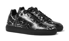 Balenciaga Releases Marble-Print Leather Sneakers for Spring 2016