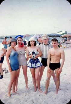 Rockaway Beach, New York  Summer 1950