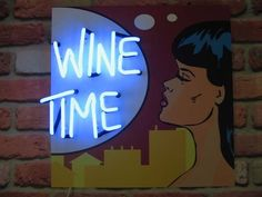 'Wine Time' Neon by Neon Creations Ltd