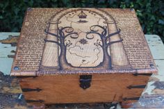 Lord of the Rings Trunk Doors of Durin Rustic by TheDribblyYak