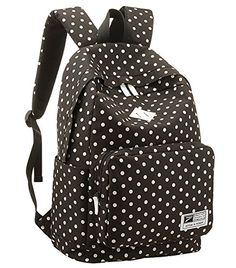 a795c5503f Amazon.com  Korean Polka Dot School Backpack Rucksack Laptop Book Shoulder  Bag Travel Knapsack  Arts