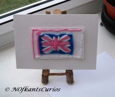 Patriotic Greeting Card, Left Blank for Your Own Message! £1.85