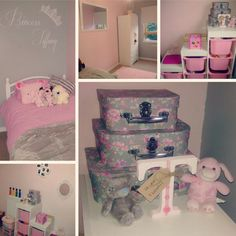 My Little Girls Room, Pink & Grey