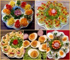 Koreczki, przekąski i przystawki. Imprezowe hity! - Blog z apetytem Bruschetta, Cobb Salad, Catering, Food And Drink, Blog, Ethnic Recipes, Projects, Haha, Polish