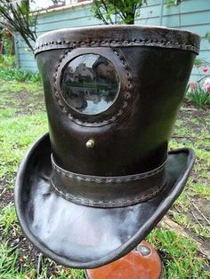 This Steampunk Hat by R.R. Martin Creates Moving Pictures trendhunter.com