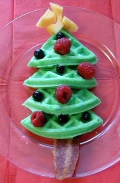 Easy and cute Christmas breakfast ideas