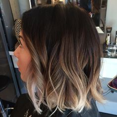 I'll just leave this right here 💁🏻 definitely my fave 😍 rootshadow colormelt bluntbob beachwaves calgary calgaryhair… 26880929013223277 Ombre Hair Color For Brunettes, Brown Ombre Hair, Brown Hair Balayage, Brunette Color, Brown Blonde Hair, Light Brown Hair, Brown Hair Colors, Hair Highlights, Brunette Balayage Hair Short