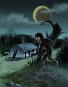 Mito del Paraguay, hijo de Tau y Kerana, se manifiesta por las noches.