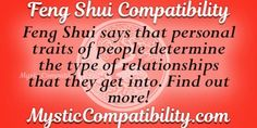 Take the Feng Shui Compatibility love test today and unveil aspects of your relationship that you were never aware of. Love Test, Love Calculator, Types Of Relationships, Feng Shui, Mystic, Sayings, Lyrics, Quotations, Qoutes