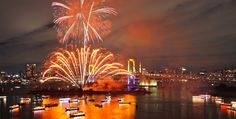 The Last One Time? : 27th Tokyo Bay Grand Fireworks might be the last due to Olympics