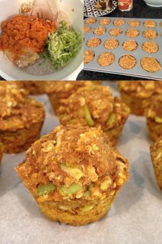 These nutritious and delicious little muffins are baked with your baby's favorite foods!