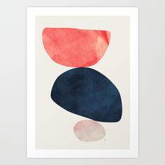 Buy Balance II Art Print by matadesign. Worldwide shipping available at Society6.com. Just one of millions of high quality products available.