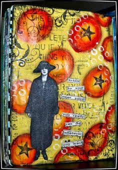 Creativity: Art journal inspiration.