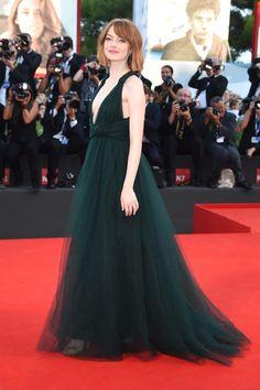 Celebrity style: los mejores y peores looks de 2014 Emma Stone en Valentino