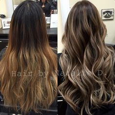 brunette with blonde highlights - Google Search