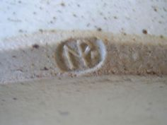 PETER CLOUGH NANTWICH STUDIO POTTERY?? To be verified - NP mark