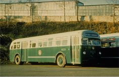 vintage bus san francisco | System: New York City Transit... Bus: 6223.. Collection of: Joe ...